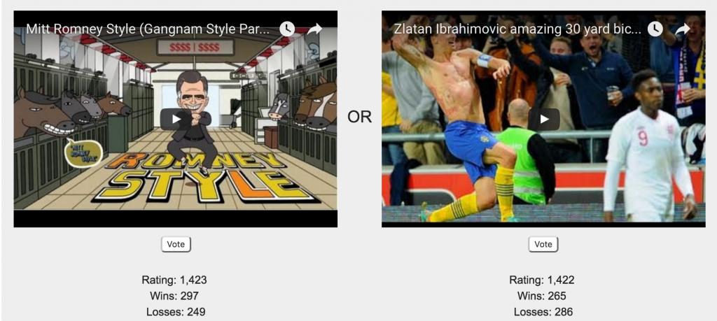 video-vs-video